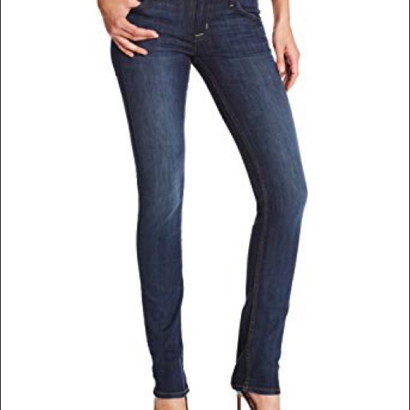 Hudson Jeans Denim - Hudson Carly Midrise Straight Leg Jeans